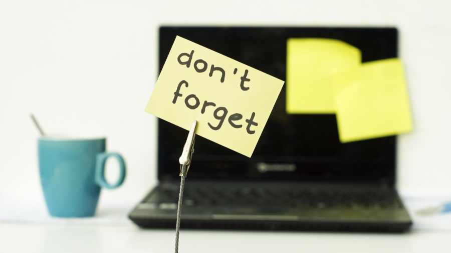 Don't forget memo